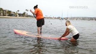 CNN Heroes: Paddling with Project Athena