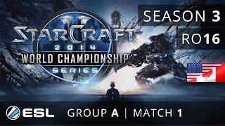 Scarlett vs. iaguz (ZvT) - Group A Ro16 - WCS America 2014 Season 3 - StarCraft 2