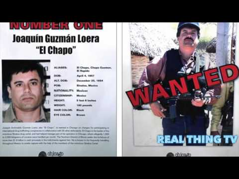 The United States Of El Chapo DEA Cartel Map Of America