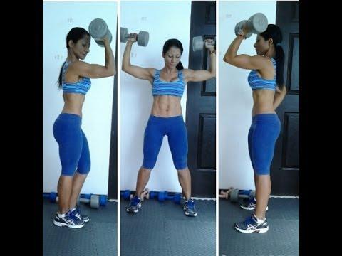 rutina para bajar de peso y tonificar los brazos