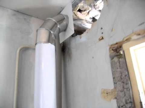 Разветвитель для дымохода газового котла обустройство дымохода видео