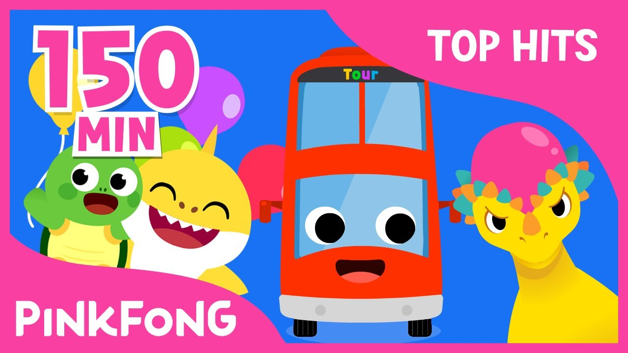 The Best Songs of May 2017 | Be happy with baby shark | +Compilation | Pinkfong Songs for Children