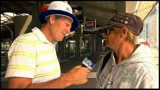 2011 AFL Footy Show - Street Talk - Docklands (17/03/11)