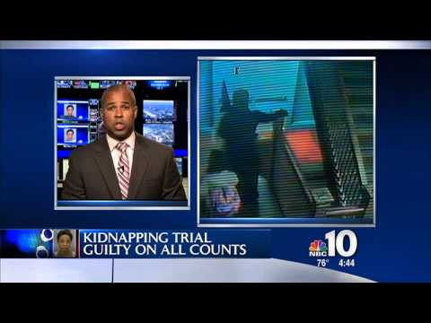 NBC 10, September 12th, 5:45 pm, Legal Commentary on the Regusters Kidnapping Trial, Guilty on all Counts