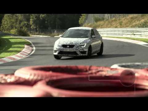 Jordi Gené y el Seat León Cupra en Nurburgring