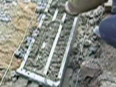 Grille ma on pose de ciment sur parping youtube - Comment on fabrique le ciment ...