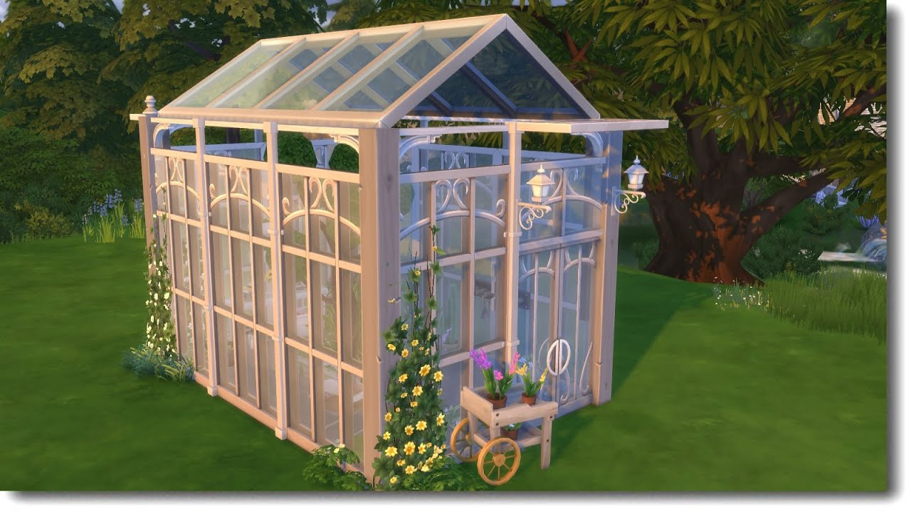 Greenhouse The Sims 4 Speed Build Youtube