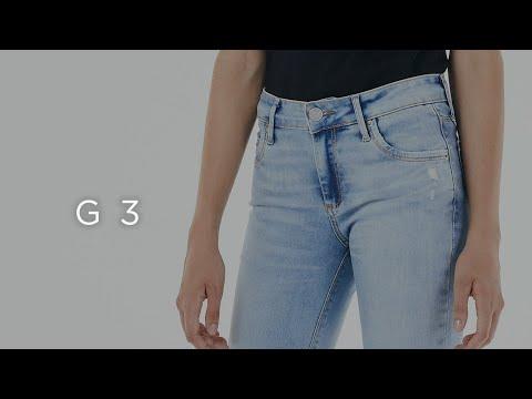 Guia Jeans - Calça Cintura Média - G3 - Feminina
