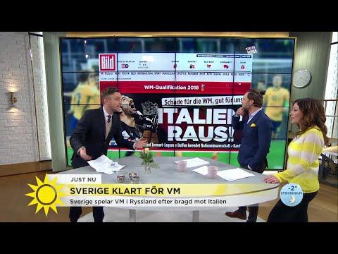 """Här är internationella chockrubrikerna efter Sveriges bragd - """"Det här skakar om hela fotbollsvärlde"""