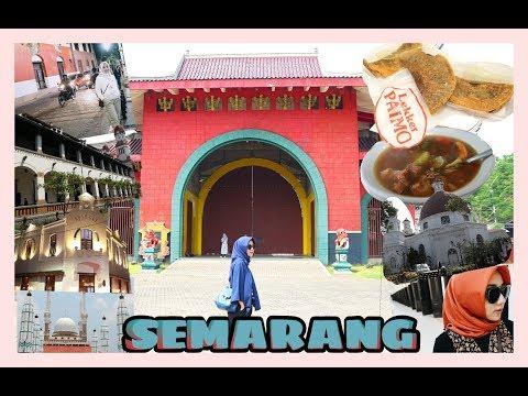 JELAJAH KOTA SEMARANG | Tempat Wisata & Kuliner Legendaris | Della's Journey