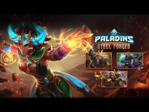 Paladins - Journey ahead with the Steel Forged Battle Pass
