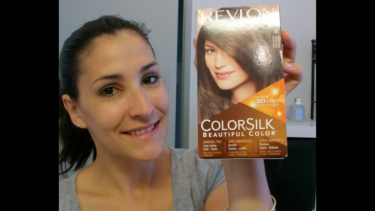 Coloration Revlon Colorsilk 41 Chatain Moyen Gros Flop
