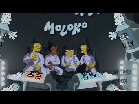 A Clockwork Yellow (Simpsons Parody of A Clockwork Orange)