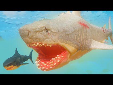 НОВЫЙ СЕКРЕТНЫЙ МЕГАЛОДОН ЕСТ АКУЛ | Feed And Grow Fish