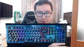 Моя новая клавиатура QCYBER ZADIAK
