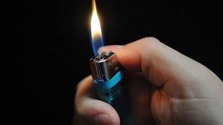 3 triky se zapalovačem