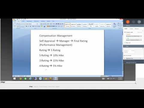 COMPENSATION MANAGEMENT LESSION-1