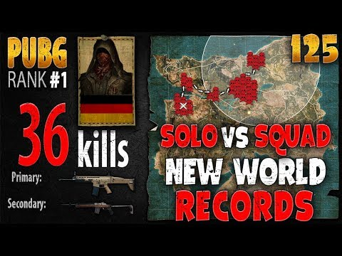 [Eng Sub] PUBG Rank 1 - MarcoOPz 36 kills [AS] SOLO vs SQUAD - PLAYERUNKNOWN'S BATTLEGROUNDS #125