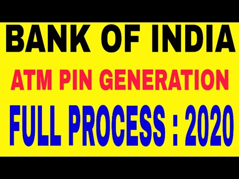 How To Make ATM PIN । BOI ATM PIN Generation ।  Full Detail ATM PIN Creation