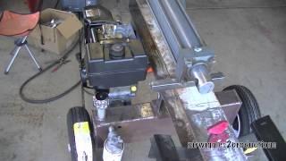 Homemade Log Splitter Part 10