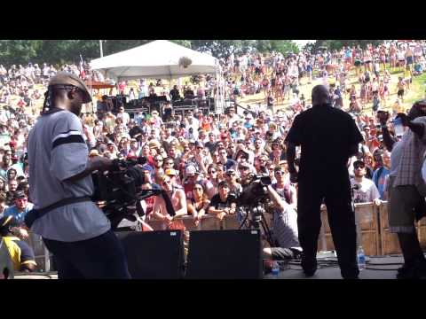 Free Press Summer Fest 2013 geto boyz willie d scarface tinsel park behind the scenes live