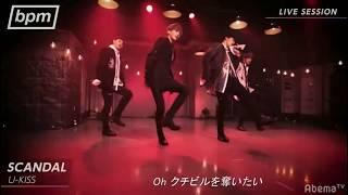 181013 U-Kiss - Scandal (live)