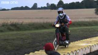 Square Wheeled Motorbike Jump - Bang Goes The Theory - Series 3 Episode 3 - BBC One