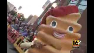 WNEP-TV, LLWS Grand Slam Parade 2013, Honda Mascots