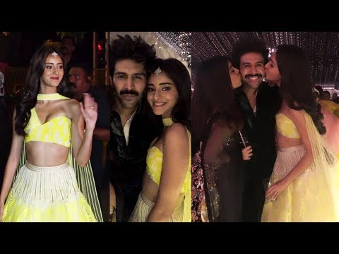 Kartik Aaryan And Ananya Pandey At Amitabh Bachchan Diwali Party 2019 Mp3