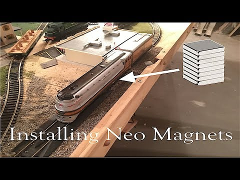 Installing Neo magnets: Rivarossi hiawatha project part 3