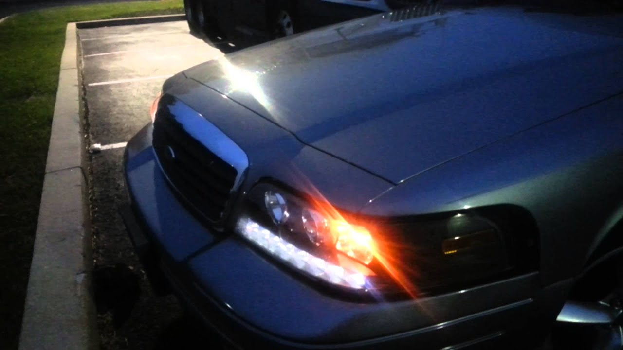 Crown victoria projector headlight review 2