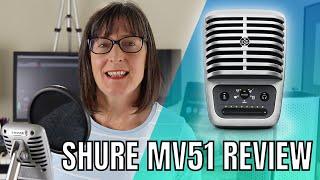 Shure MV51 Review: Digital Condenser Mic For Mac, PC, iPad Home Studio