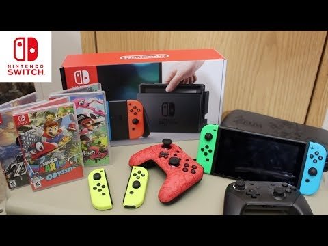 Nintendo Switch Holiday Buyer's Guide!! What You'll NEED!!!
