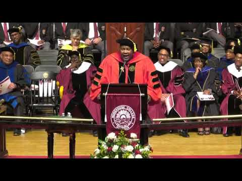 Tracy Bethea - Who Preaches and Shuts Down a Baccalaureate Service..Pastor E. Dewey Smith