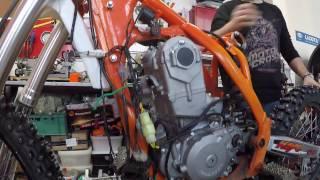 Внедряем новый мотор Zongshen 450сс в раму KAYO K6