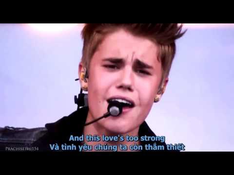 [Vietsub+Lyrics] Justin Bieber - Never Let You Go (Live)