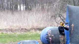 3-man tourney at saltfork paintball