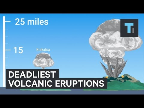 5 Deadliest Volcano Eruptions In Human History