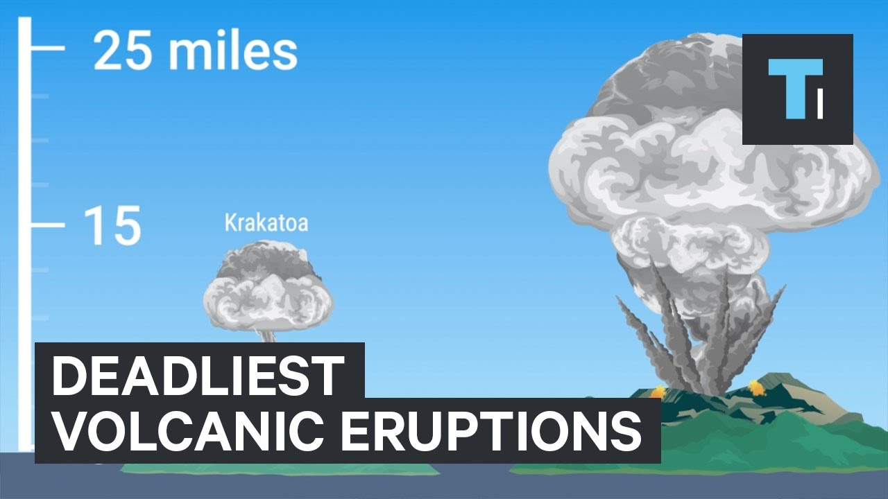5 Deadliest Volcano Eruptions In Human History