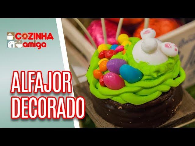 Alfajor de Páscoa - Alê Peruzzo | Cozinha Amiga (28/03/19)