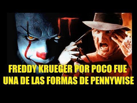 IT ESO 2017 Freddy Krueger por Poco Fue Una de las Formas de Pennywise