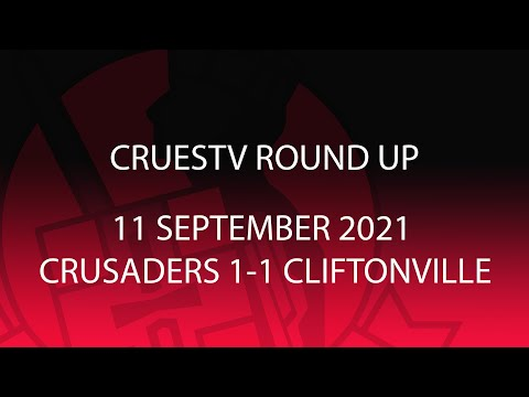 Crusaders Cliftonville Goals And Highlights