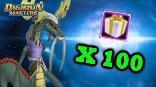 Opening 100 Majiramon Boxes - Digimon Masters Online