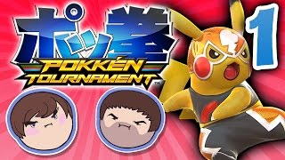Pokken Tournament: Casa de Pikachu - PART 1 - Grumpcade