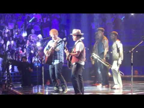 Ed Sheeran & Bruno Mars live - The A Team - Scottrade Center St. Louis, MO - 8-8-13