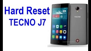 Hard Reset Tecno J7