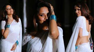 Actress anasuya hot saree backless hot scene hot hip saree hot scene hot saree latest