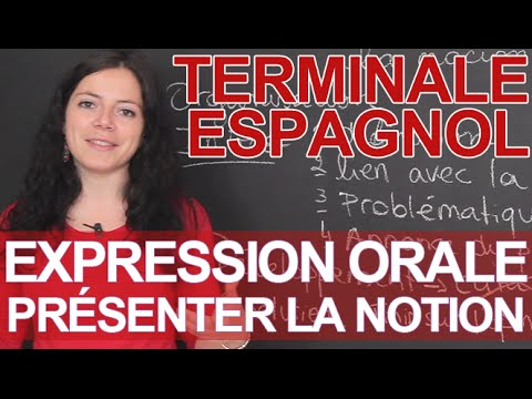 L'épreuve d'expression orale : présenter la notion - Terminale ... L'épreuve d'expression orale : présenter la notion - Terminale - Espagnol -  Les Bons Profs - YouTube
