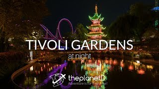 Gambar cover A Tour of Tivoli Gardens at night in Copenhagen