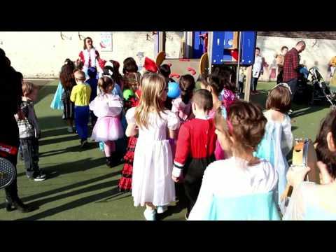 Carnaval CP à l'école Brasseur